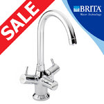 View Item Brita Titanium Chrome 3 Way Filtered Water Kitchen Mixer Tap