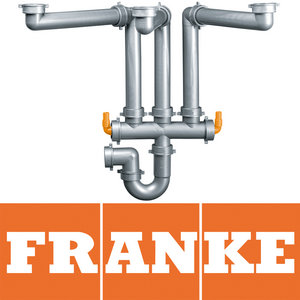 Franke Lira 3 Spazio, 3 Bowl Universal Kitchen Sink Space Saver Plumbing Kit Preview