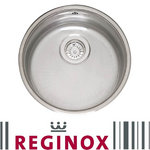 View Item Reginox L18 390 OKG 1.0 Polished Stainless Steel Undermount Kitchen Sink RF306S