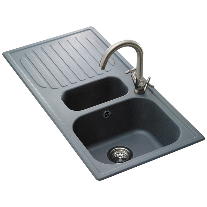 Reginox Torino Composite Granite Kitchen Sink Rgt15 Fg