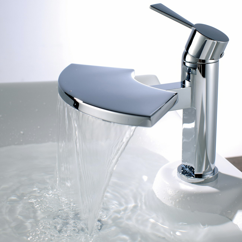 details about blade waterfall bathroom basin sink mixer tap b6005