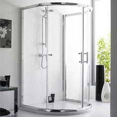 D Shape Shower Enclosure