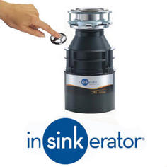 View Item Insinkerator ISE Model 45 Kitchen Sink Waste Disposal Unit & Air Switch ISE45AS