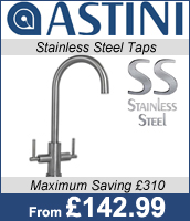 Astini Stainless Steel Taps