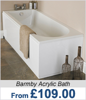 Barmby Acrylic Bath