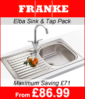 Franke Elba 1.5 Sink and Tap