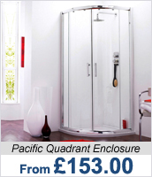 Pacific Quadrant Shower Enclosure