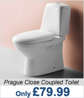 Prague Close Coupled Toilet