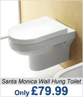 Santa Monica Wall Hung Toilets