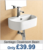 Santiago Cloakroom Basin