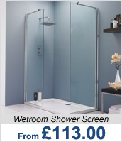 Wetroom Shower Screen