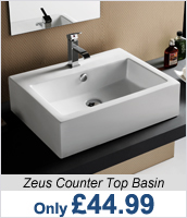 Zeus Counter Top Basin