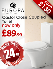 Castor Wall Hung Toilets