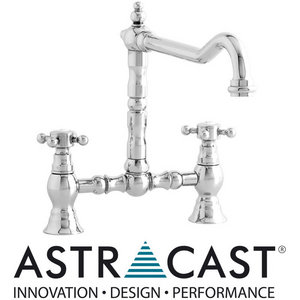 Astracast Camargue Bridge Chrome Kitchen Sink Mixer Tap TP0430 Preview