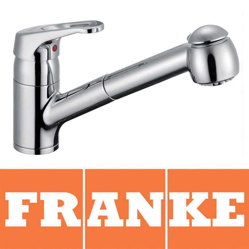 View Item Franke Swing Spray Chrome Pullout Spout Kitchen Sink Mixer Tap