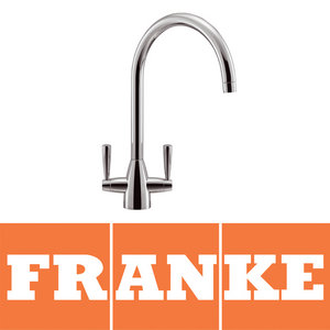 Franke Eiger Chrome Twin Lever Swivel Spout Kitchen Sink Mixer Tap Preview