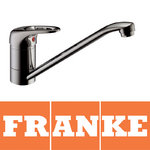 View Item Franke Pro Top Lever Silk Steel Single Lever Swivel Spout Kitchen Sink Mixer Tap