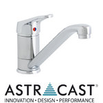 View Item Astracast Finesse Brushed Steel Kitchen Sink Mixer Tap TP0709