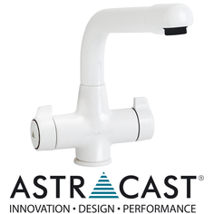 View Item Astracast Targa White Kitchen Sink Mixer Tap TP0019