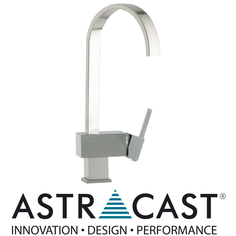 View Item Astracast Indus Brushed Steel Kitchen Sink Mixer Tap TP0773