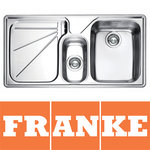 View Item Franke Ariane 1.5 Bowl Silk Stainless Steel Kitchen Sink & Waste LHD ARX654