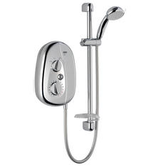 View Item Mira Vie 10.8 KW Electric Shower Satin Chrome