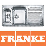 View Item Franke Ariane 1.5 Bowl Silk Stainless Steel Kitchen Sink & Waste RHD ARX661