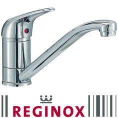 View Item Reginox Miami Chrome Contemporary Single Lever Kitchen Sink Mixer Tap