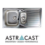 View Item Astracast Alto 1.5 Bowl Brushed Stainless Steel Kitchen Sink & Waste