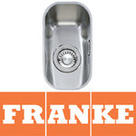 View Item Franke Ariane 1.0 Bowl Silk Stainless Steel Undermount Kitchen Sink ARX110 17