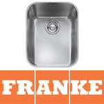 View Item Franke Ariane 1.0 Bowl Silk Stainless Steel Undermount Kitchen Sink ARX110 33