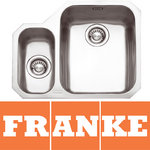 View Item Franke Ariane 1.5 Bowl Silk Stainless Steel Undermount Kitchen Sink LH ARX160