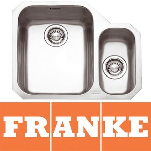 Franke Ariane 1.5 Bowl Silk Stainless Steel Undermount Kitchen Sink RH ARX160 Preview