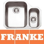 View Item Franke Ariane 1.5 Bowl Silk Stainless Steel Undermount Kitchen Sink RH ARX160
