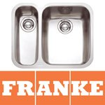 View Item Franke Ariane 1.5 Bowl Silk Stainless Steel Undermount Kitchen Sink LH ARX160D