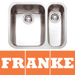 View Item Franke Ariane 1.5 Bowl Silk Stainless Steel Undermount Kitchen Sink RH ARX160D