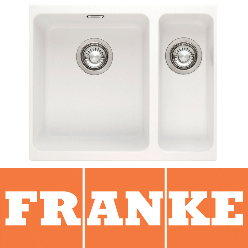 Franke Vector Sink : Franke Kubus Kbg 160 Polar White Undermount Kitchen Sink 1250046 HD ...