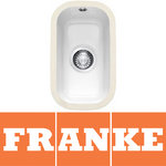 View Item Franke by V&B 0.5 Bowl White Ceramic Undermount Kitchen Sink & Waste VBK110 21
