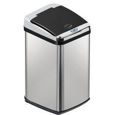 Inmotion 38L Stainless Steel Auto Sensor Kitchen Waste Dust Bin