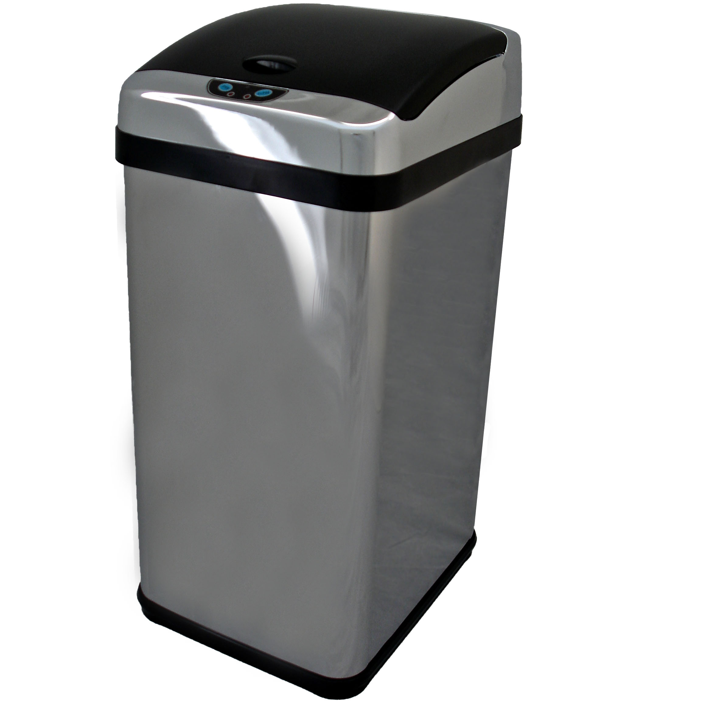 Kitchen Waste Bins: 58L Stainless Steel Auto Sensor Kitchen Waste Dust Bin