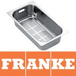 View Item Franke Maris MRG651 Steel Kitchen Sink Strainer Bowl