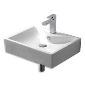 Europa Crave 1TH Contemporary Ceramic Bathroom Cloakroom Basin Sink 4339