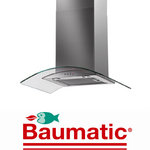 View Item Baumatic BWT7.3GL 70cm Stainless Steel Glass Cooker Hood