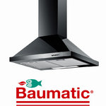 View Item Baumatic F70.2BL 70cm Black Steel Cooker Hood