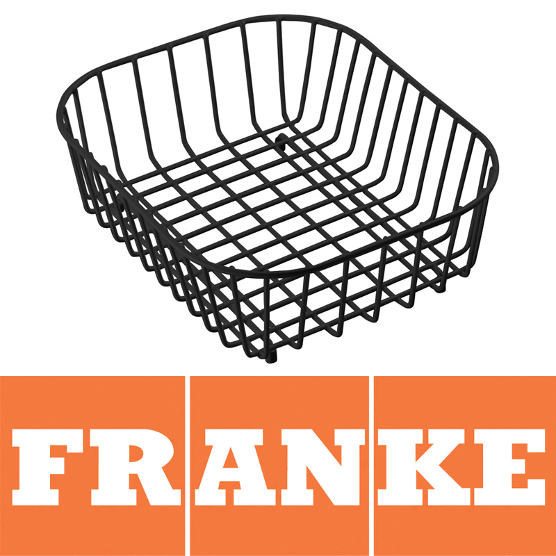 Franke Compact Kitchen Sink Drainer Basket Black 112.0050
