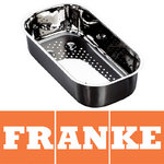 View Item Franke Ariane Stainless Steel Strainer Bowl