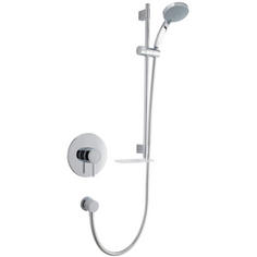 View Item Mira Element BIV Chrome Thermostatic Built In Mixer Valve &amp; Shower Kit