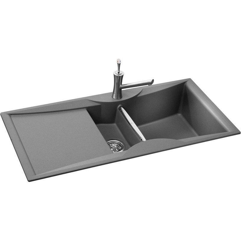 Kitchen Sink Phoenix : Carron Phoenix ZX150 Portland Grey Kitchen Sink Preview