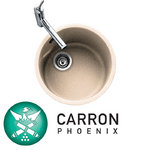 View Item Carron Phoenix Rondel Champagne Beige Kitchen Sink