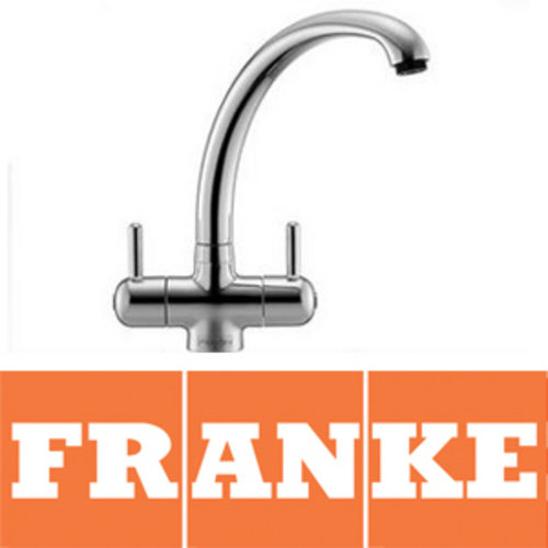 View Item Franke Zurich Silk Steel Pro Value Kitchen Sink Mixer Tap